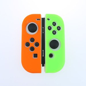 Image 5 - Light Purple Silicone Case For NS Switch Cover Joycon Case Soft Controller Shell Console Protective Controller Joy con Cover