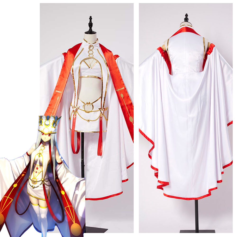 Fate Grand Order Illya Irisviel Cosplay Costume Outfit