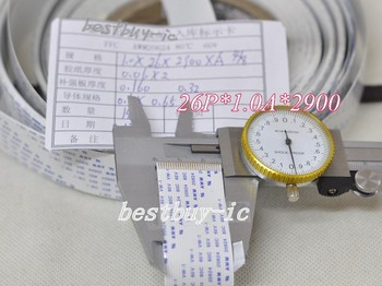 1.0mm Spacing + 2900mm Length +26P A / same direction line Soft wire FFC Flexible Flat Cable. 26P *1.0A *2900MM фото
