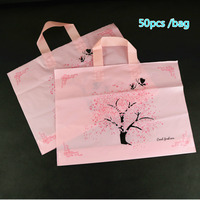 Postal Lucky Tree Thickening Suit dress Shop Selling Clothes Dress Plastic Portable Gift Packing Clothing Bag Can Customized