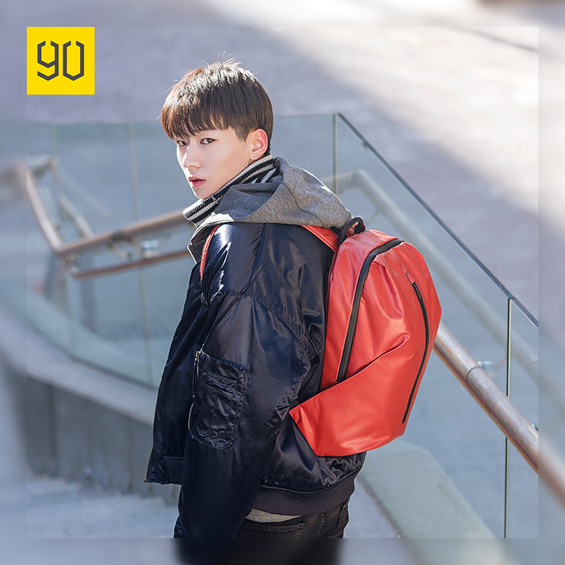 90FUN All Weather Lightweight Backpack Water Resistant 18L School Daypack 14 inch Laptop Bag for men women in Backpacks from Luggage Bags