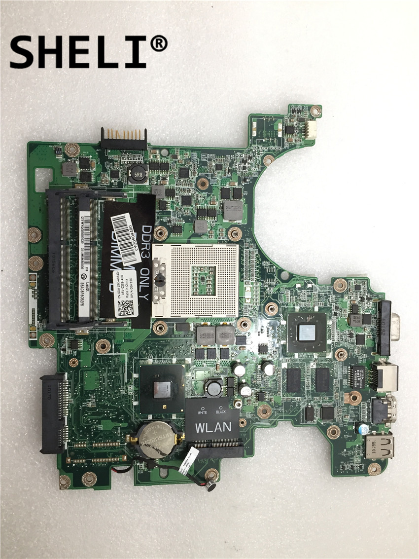 SHELI For DELL 1764 Laptop Motherboard DA0UM3MB8E0  0F1R94 Mainboard SLGZS 216-0774009 HD5450 1G 100% Tested Good Working