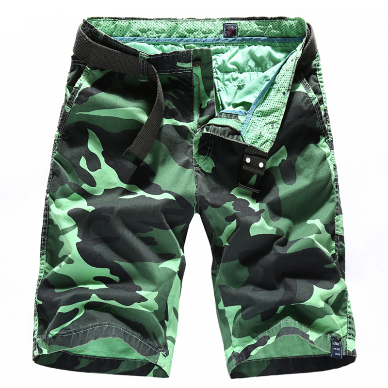 MISNIKI 2018 Summer Fashion Cargo Shorts Men Military Casual Shorts Homme Cotton Camouflage Mens Shorts CYG360