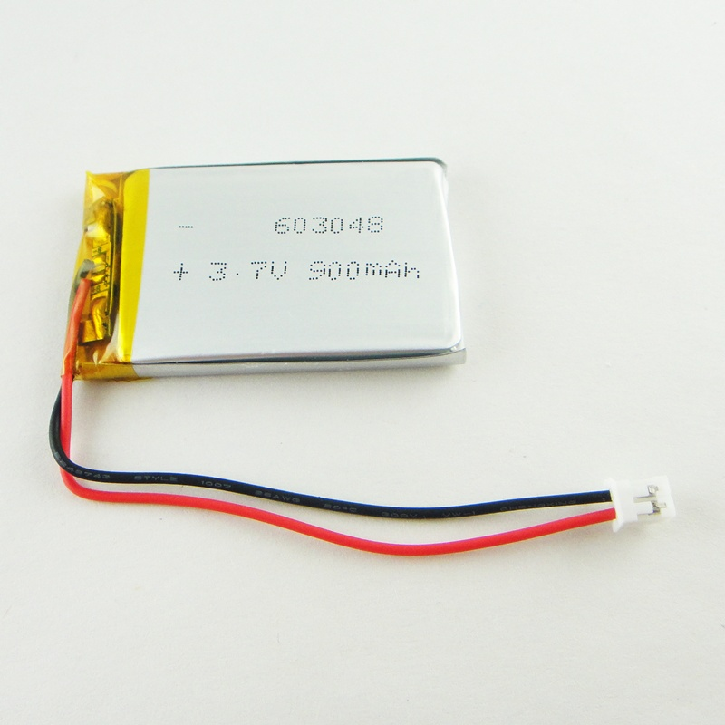 Brown 3.7V lithium polymer battery Courbevoie children chant teaching machine 603048 story machine 900MAH Rechargeable Li-ion Ce
