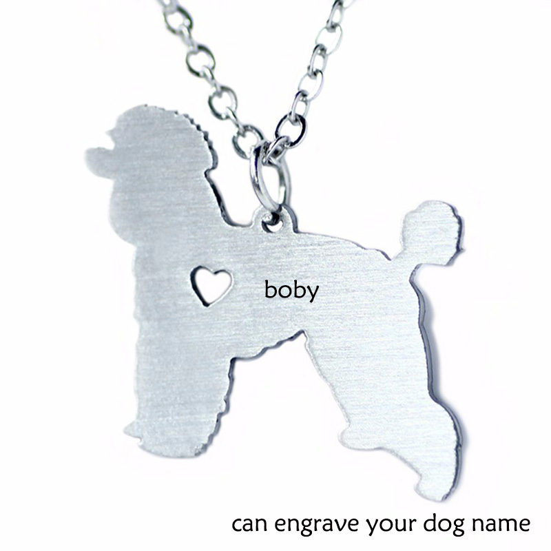 Can Burn Dog Name Pet Jewelry Stainless Steel Jewelry Dog