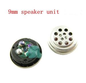 Unidade speaker 9 MM unidade de ouvido 26 ohms 1 pair = 2 pcs