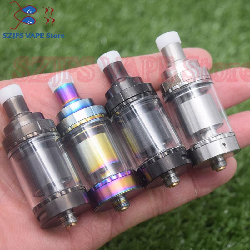 Siren V2 GTA MTL Vape Tank 24mm Diameter 2ml/4.5ml Capacity E Cigarette Tank Atomizer Airflow Options Adjustment Vs Phobia V2