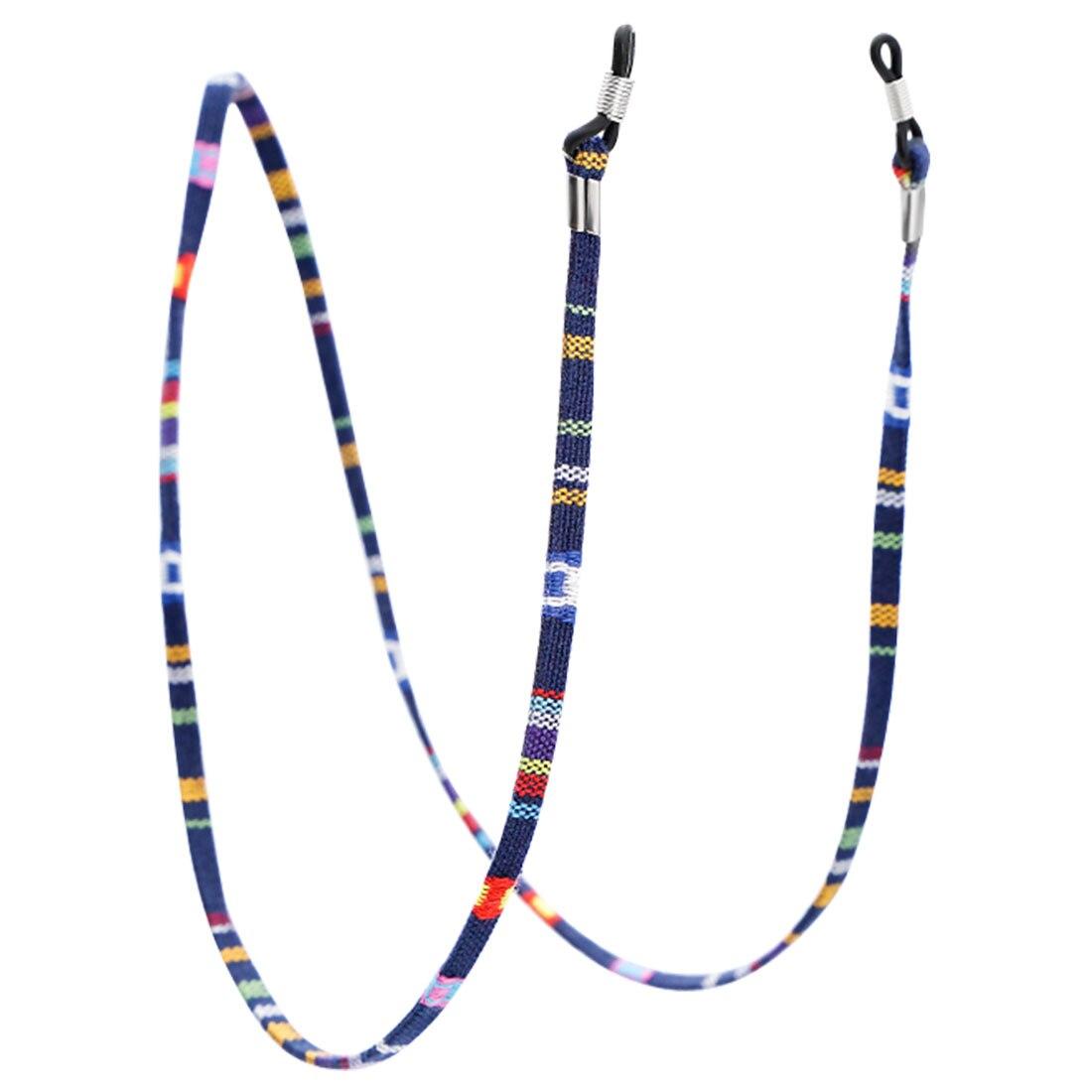 1 шт., 6 цветов, кожаный шнурок для очков, регулируемый конец, держатель для очков, красочные кожаные очки, шейный ремешок, веревка, ремешок - Цвет: 6