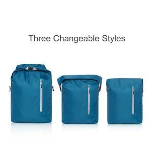 Image 3 - Ninetygo 90FUN軽量バックパック折りたたみバッグスポーツ旅行防水カジュアルデイパックのため女性男性 20Lブルー/黒