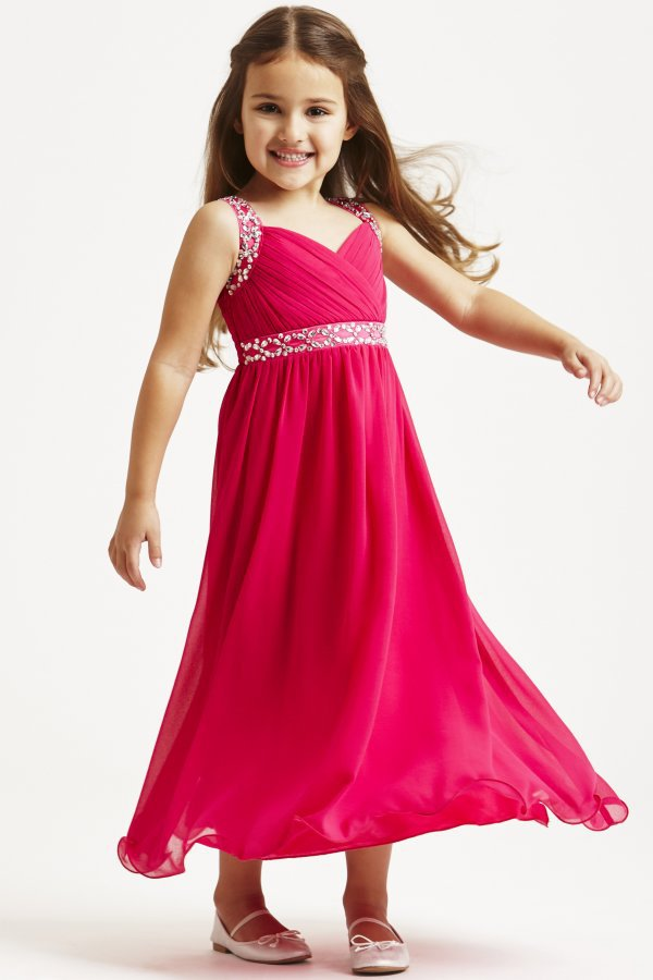 beading pageant dresses for teenage girls 12 years old v neck ...