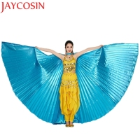 Top Quality Chamsgend Coolbeener Egypt Belly Wings Dancing Costume Belly Dance Accessories No Sticks Mar3 Drop