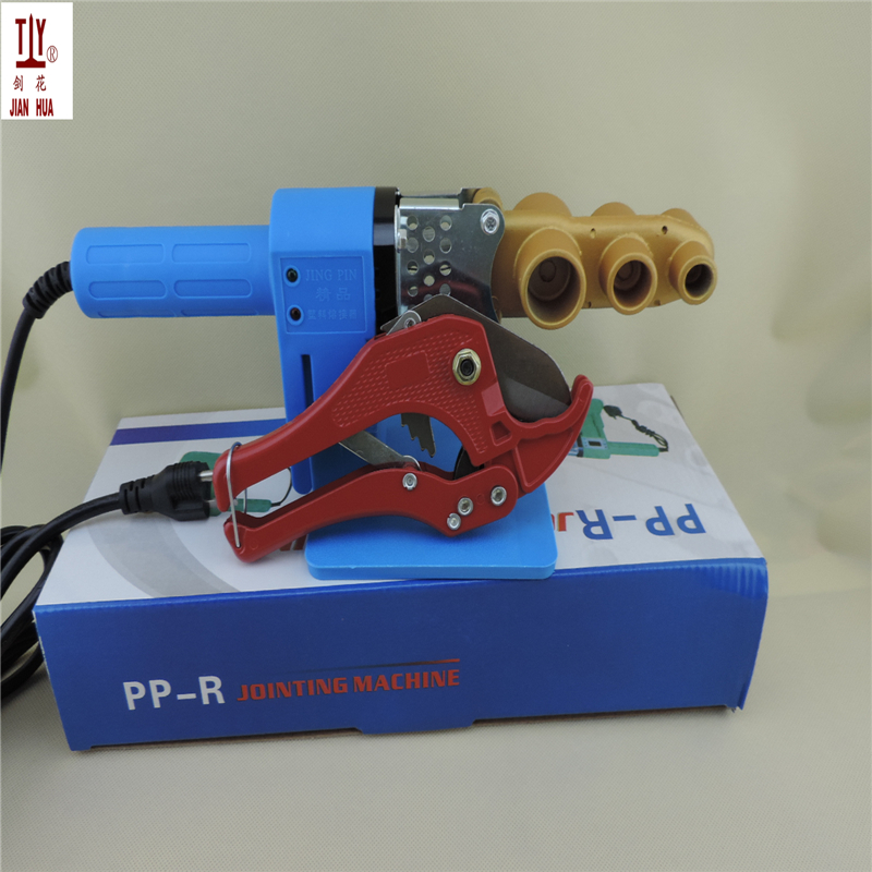 Free shipping 20-32mm AC 220/110V 600W plastic pipe welding machine, ppr pipe welder with 42mm ppr cutter free shipping 16 32mm 4pcs die heads ppr tube pipe welding machine plastic pipe welderac 220 110v ppr pe pp pipe welding
