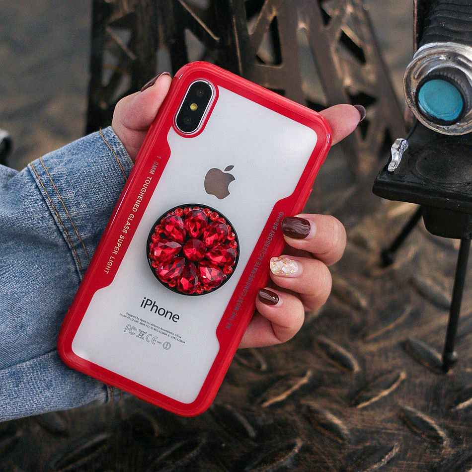 For iPhone X XS Max Case Luxury Glitter Diamond Cover For iPhone 7 XR 6s 8 6dbec3084e31