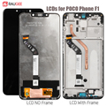 Display For PocoPhone F1 Screen Poco F1 Lcd Touch Screen Display Digitizer Replacement For xiaomi PocoPhone F1 Display LCDs 5.5