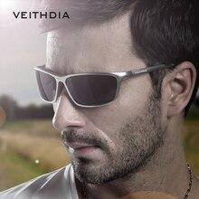 VEITHDIA Brand Designer Aluminum Men's Polarized Sunglasses Sunglass Eyewear Accessories Men Blue Mirror Sun Glasses Goggle 6520