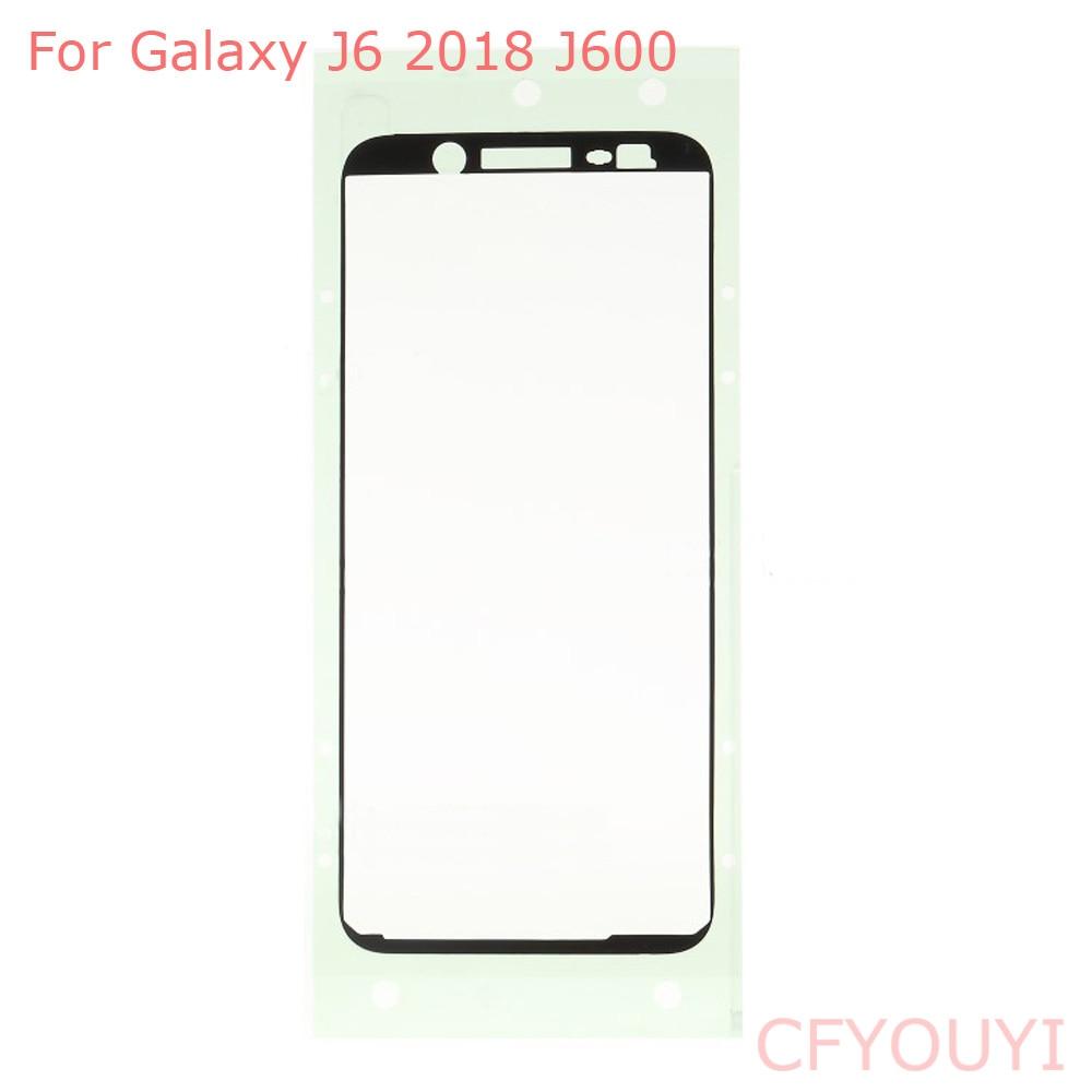 1~10pcs Front Housing Frame Adhesive Sticker Glue For Samsung Galaxy J6 2018 J600F J600FD J600DS