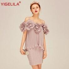 b1b4869ced5 YIGELILA Brand 8204 Latest New Women Fashion Sexy Spaghetti Strap Tops Slim  Skirt Women Sets(