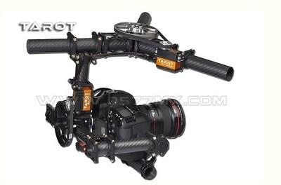 Tarot TL100AAA 3 axes support de caméra cardan avec servos, DSLR 5D 5D2 marque aérienne photo