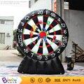 2016 jogo de dardos inflável para se divertir, inflável jogo de tabuleiro dart 7.2Ft./2.2 M high-BG-A0947 brinquedo