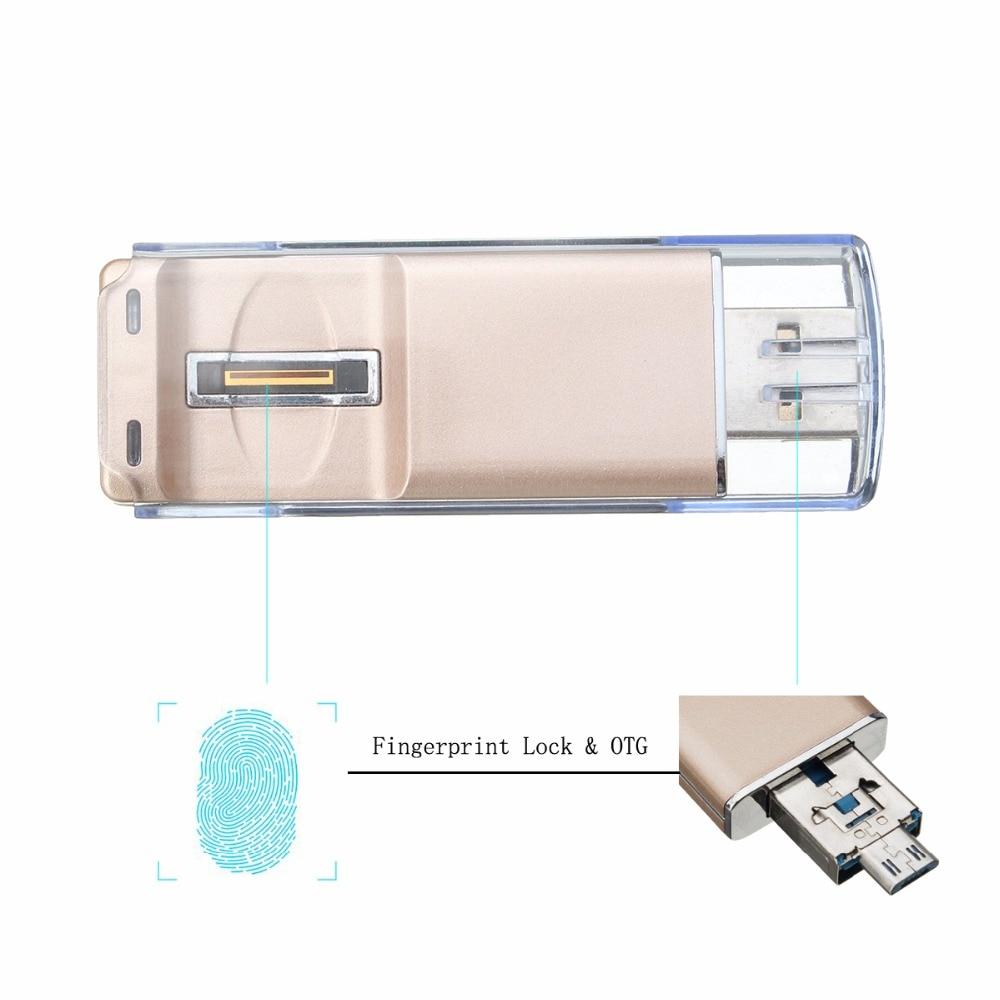 Fingerprint Lock Pen Drive 16GB