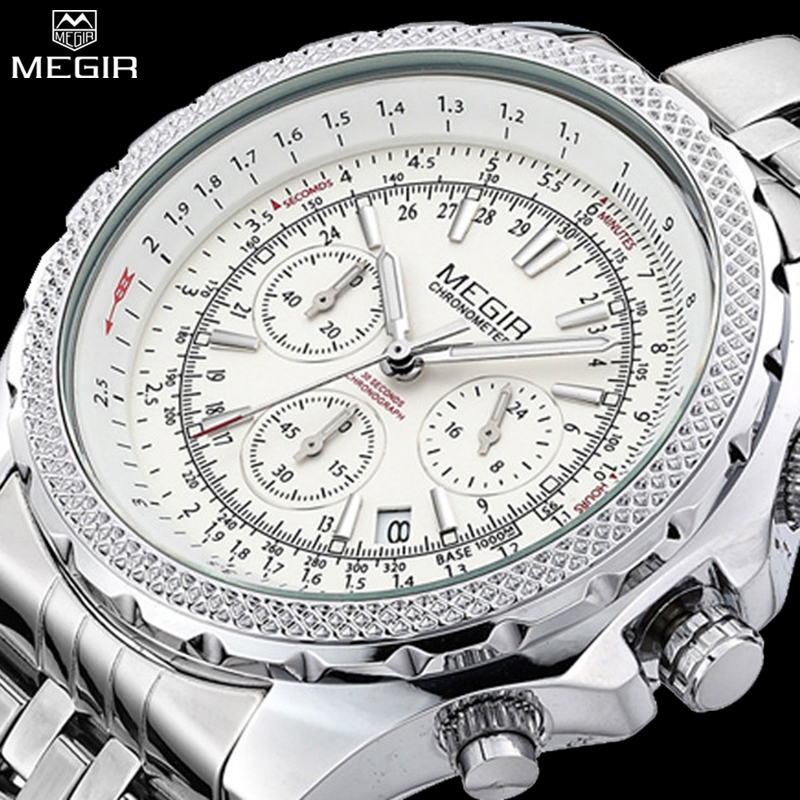 MEGIR Watches Men Fashion Casual Luxury Watch