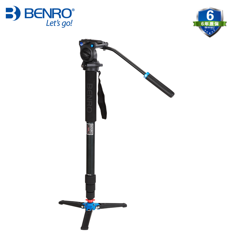 Benro A38TDS2 Professional Monopod For Photo Video Especial For Bird Watching