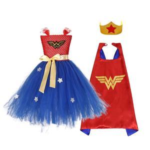 Image 3 - Vestido de tutú hecho a mano para niños, tutú de Ballet esponjoso, conjunto de disfraz de Halloween, Dresses2 10Y de fiesta de cumpleaños