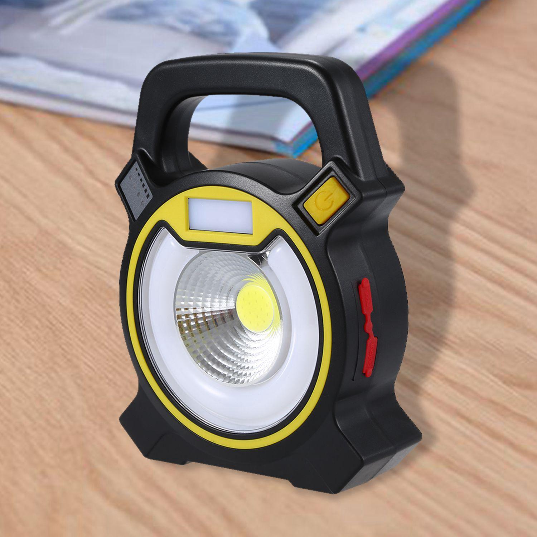 Echargeable 30 Вт УДАРА СВЕТОДИОДНЫЙ Портативный прожектор сад работы пятна USB