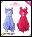 2013 New Free Shipping two colors children dress for girls of princesses flower formal dress white rabbit