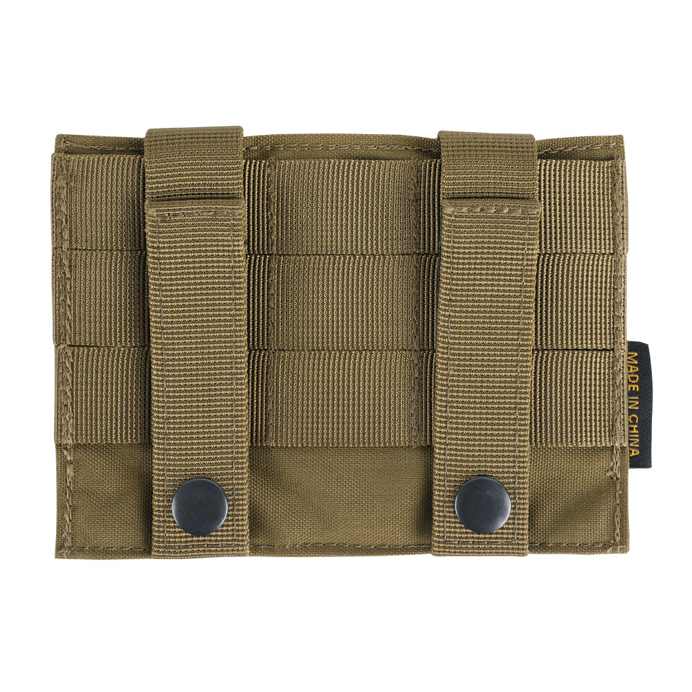 Tactical Molle Triple Magazine Pouches Military Pistol Clip Small Bag Glock Accessories Pouches
