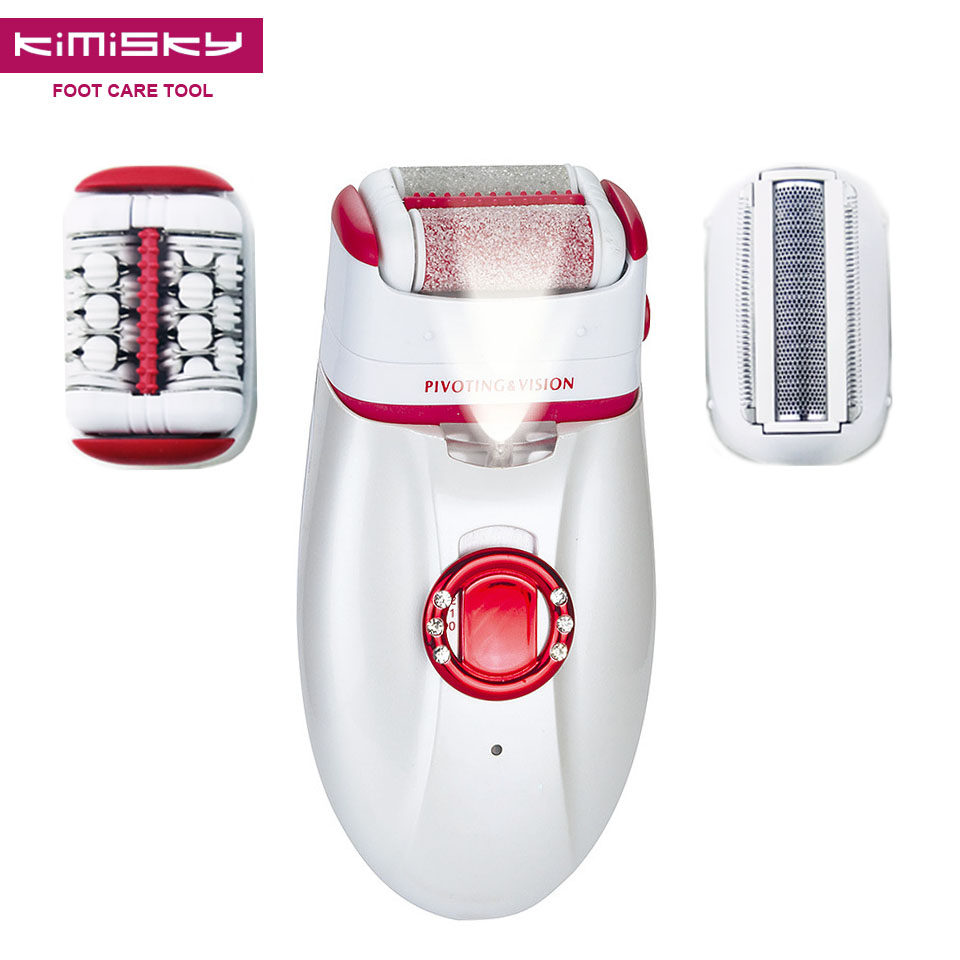 Quality Washable Multi-functional Recharge Electric FOOT CARE TOOL Pedicure Depilacion Depilation Epilators Depilatories Shaver цена