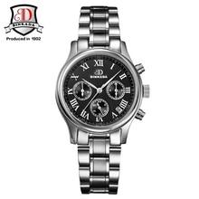BINKADA Gold Watch font b Women b font Rhinestone Luxury font b Mechanical b font Watches