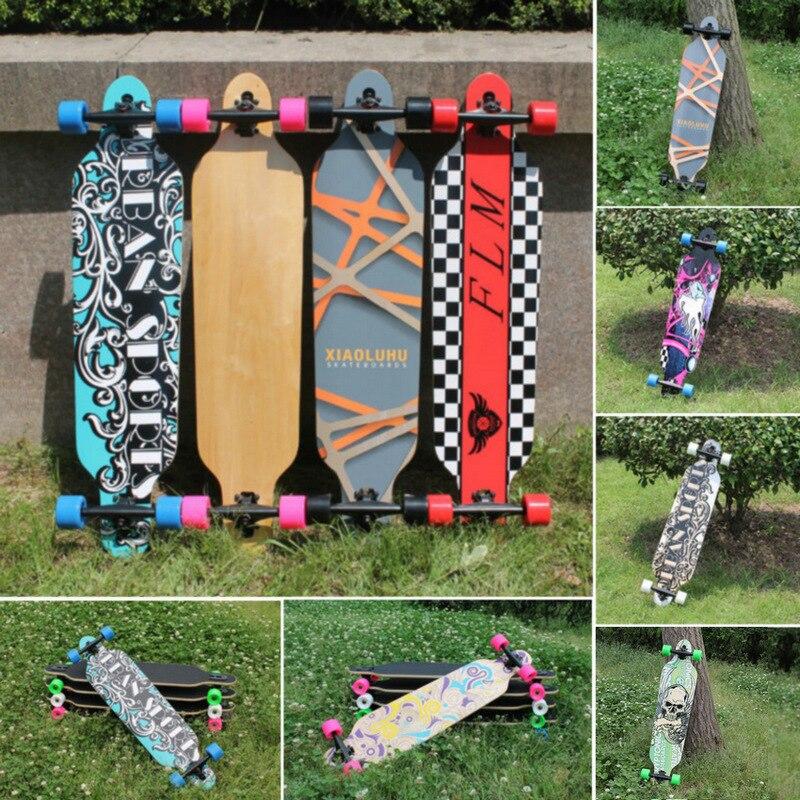 Professionelles komplettes Longboard-Skateboard-Allrad-Ahorn-Straßen-Tanzen-Longboard-Skateboard