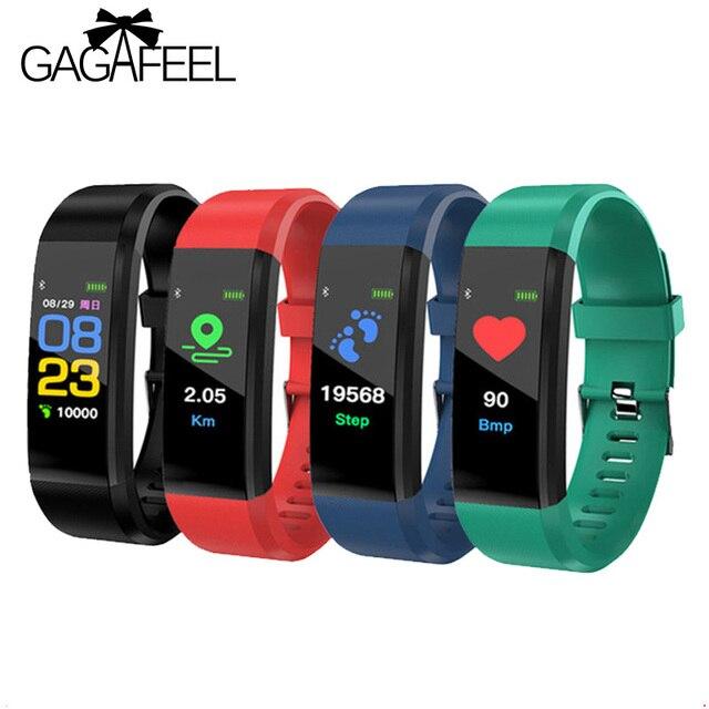 115 Sports watch fitness smart bracelet Men Women Heart Rate blood pressure watc