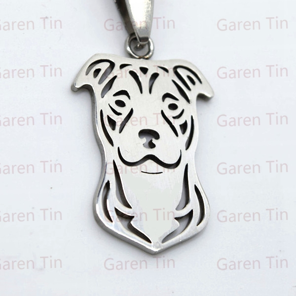 American pit bull terrier pendant stainless steel natural ears american pit bull terrier pendant stainless steel natural ears pitbull charms pit bull dog in pendants from jewelry accessories on aliexpress aloadofball Gallery