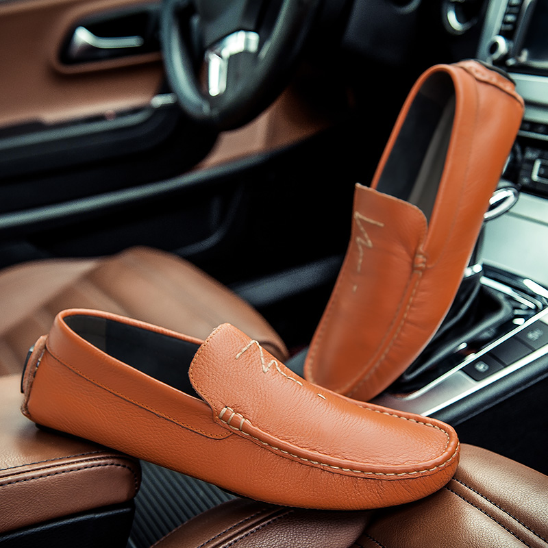 High Quality Genuine Leather Men Shoes Soft Moccasins Loafers shoes Fashion Brand Men Flats Comfy Driving ShoesBig Size 36~47 pew71 la 6582p mainboard for acer aspire 5742 laptop motherboard mbrjw02001 intel hm55 s988a ddr3