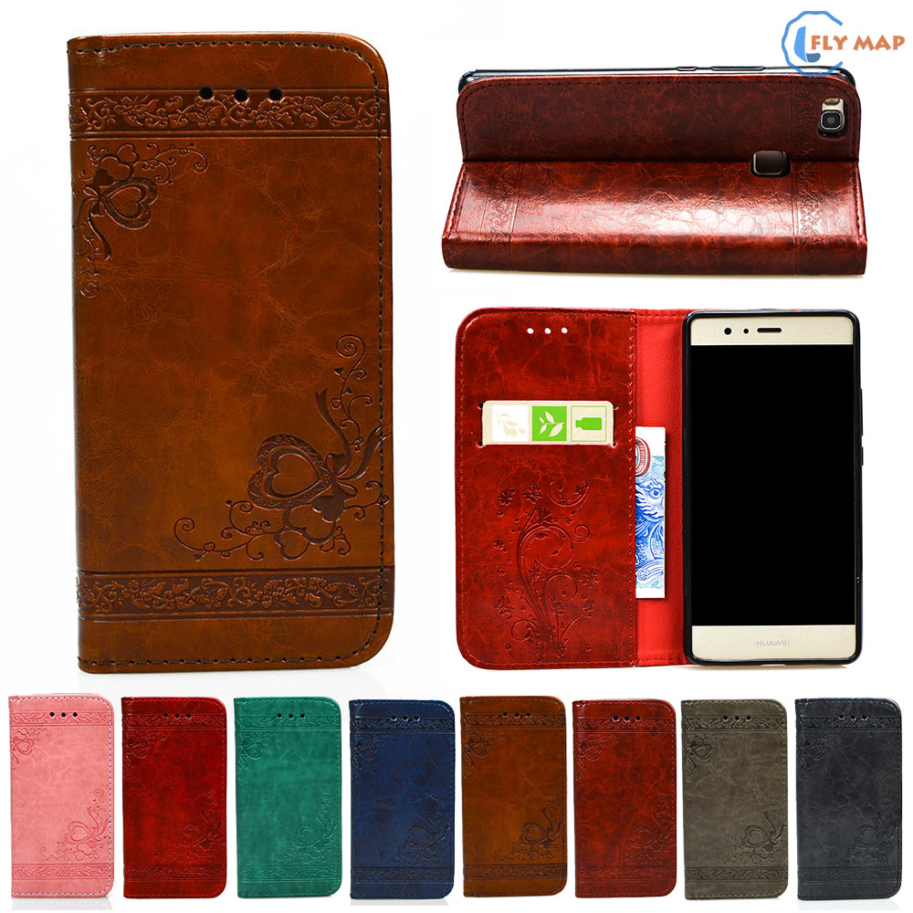 Flip Coque For Huawei P9 Lite P 9 Lite P9Lite TPU Back Box Phone Leather Case Cover For Huawei VNS-L21 VNS-L31 VNS L21 L31 Box
