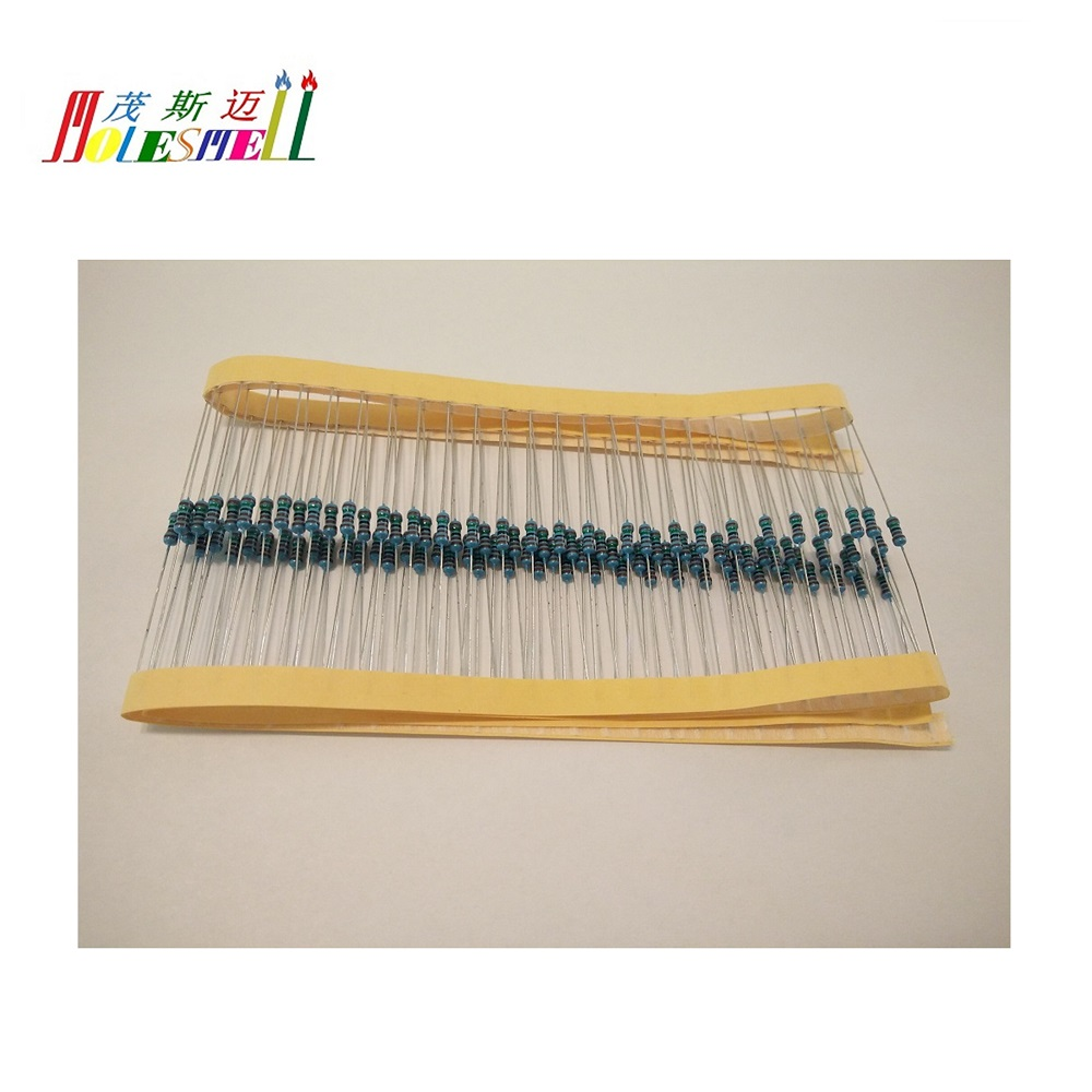 1000pcs 1/4w 0R-10MR 1% Metal <font><b>Resistors</b></font> 0-<font><b>10MOhms</b></font> 0.25w 1% Metal Film <font><b>Resistor</b></font> Whole type <font><b>Resistor</b></font> image