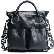 2019 New Pu Leather Women Bags Large Capacity Handbags Double Pocket Girl Casual hot sale Tote bag ladies hand bags Shoulder Bag цена
