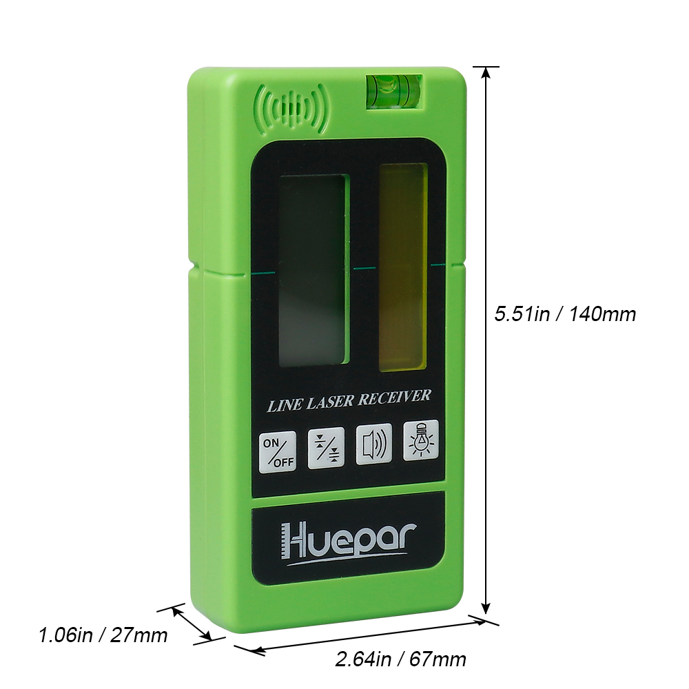 Receiver Vertical Leveling With For Indoor Detector Electronic Level Green Beam Pulsing Ourdoor Laser Red Line Horizontal Lines