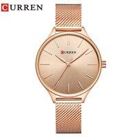 CURREN 9024 Watch Women Casual Fashion Quartz Wristwatches Creative Design Ladies Gift Relogio Feminino