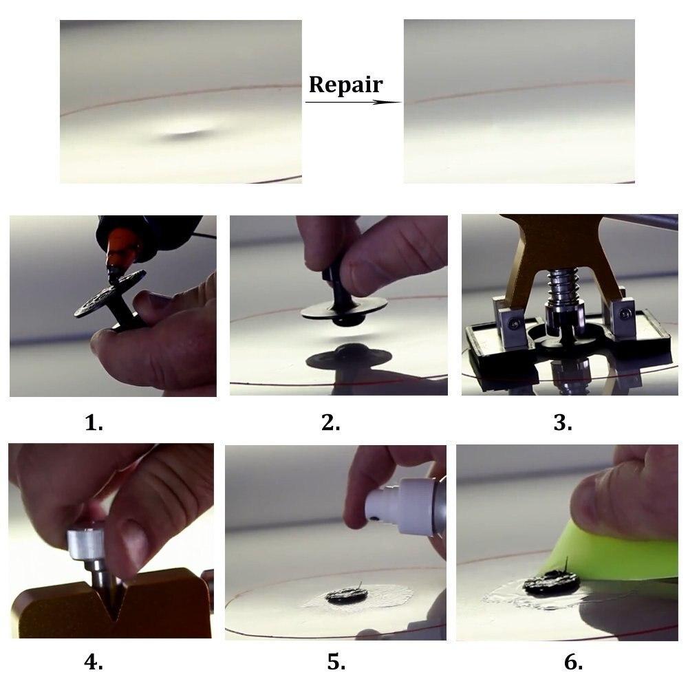 WHDZ Tools Paintless Dent Repair Tools Dent Removal Repair Hail Damage Dent Puller Glue Sticks Hand Tool Set ferramentas