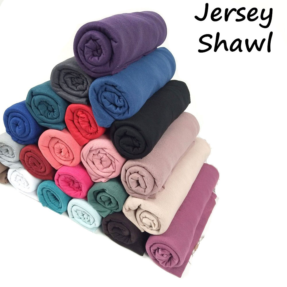 31 Color High Quality Jersey Scarf Cotton Plain Elasticity Shawls Maxi Hijab Long Muslim Head Wrap Long Scarves/scarf 10pcs/lot