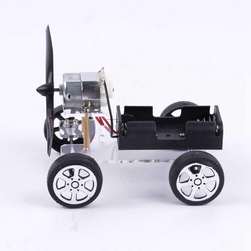 Modell Kit Wind-powered Kleine Auto DIY Wind Air Power Spielzeug Wissenschaft Technologie Kleine Erfindungen Wissenschaftliche Experimente Spielzeug Für kinder