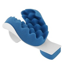 Neck Support Pillow Tension Reliever Massager Head Shoulder Relax Muscle Relieves Tightness Soreness Theraputic