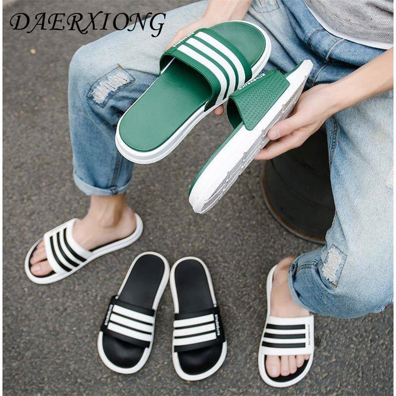 78df706988cd7 ... Summer Slippers Outside Casual Beach Flip Flops Mens Shoes Sandals  platform Unisex Slides Indoor Home Slippers 2019. -57%. Click to enlarge