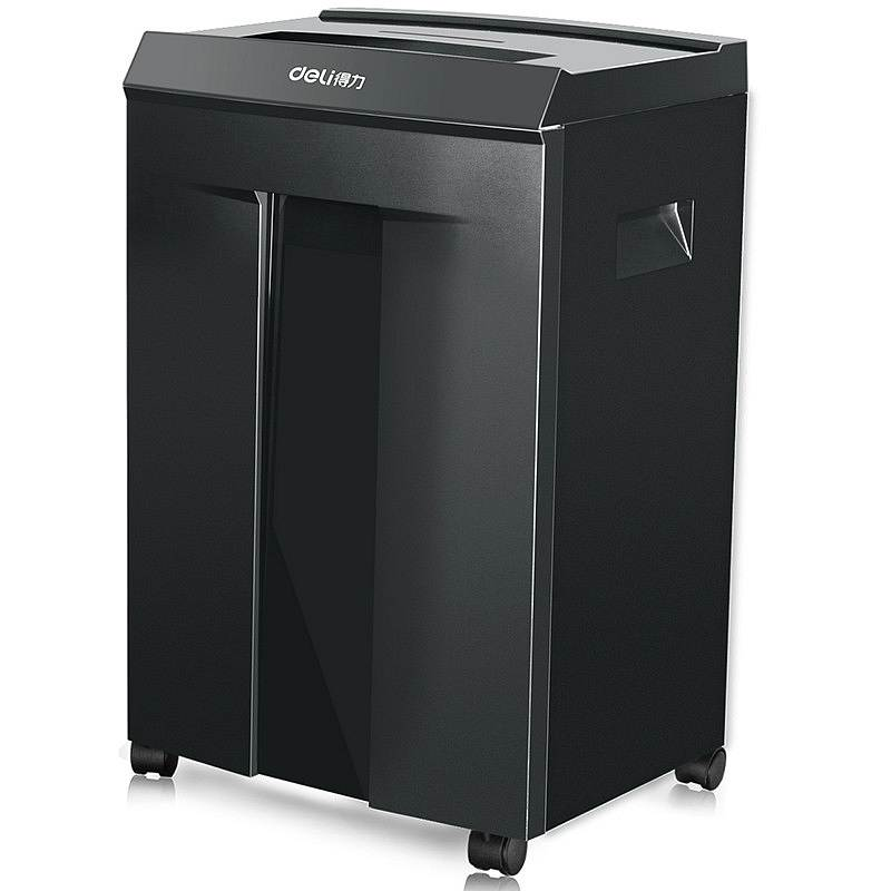 Deli 9919 Electric shredder level 7 security 1x5mm paper chips 30L automatic shredder 450W 60 minutes continue shredding 220VACDeli 9919 Electric shredder level 7 security 1x5mm paper chips 30L automatic shredder 450W 60 minutes continue shredding 220VAC