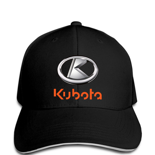 Men Baseball caps Kubota Tractor Tools Logo Man Fashion White L-in ... bfd3e362418