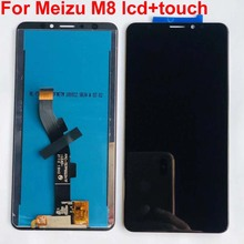 """Original LCD Display For 6.0"""" Meizu M8 M8 Lite LCD Screen+Touch Panel Digitizer For Meizu M8/V8 Display Assembly M813H M1813"""