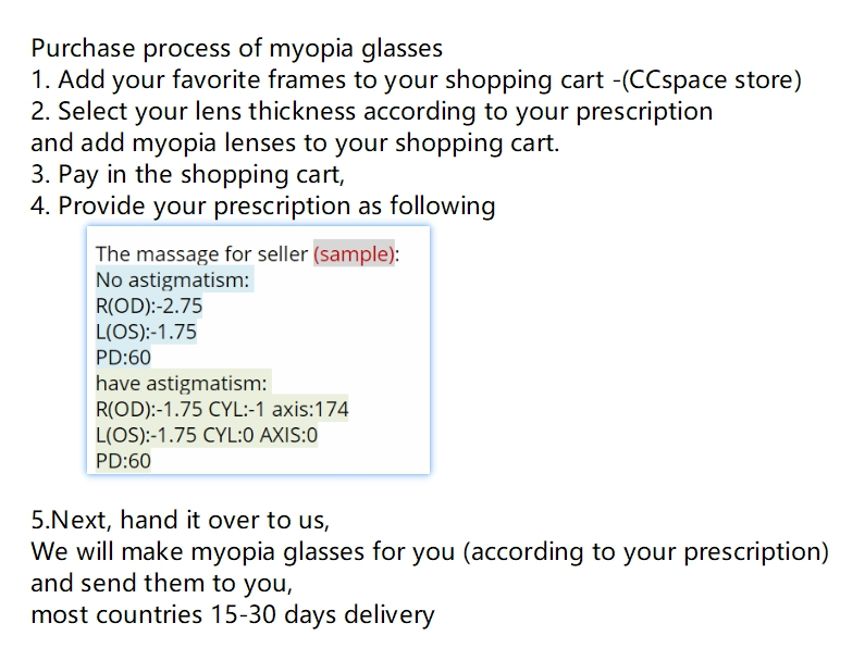 Image 2 - A Pair Lenses Anti Blue Ray Aspheric Lens Prescription Myopia Glasses Presbyopia Lens Anti Radiation 1.56 & 1.61 & 1.67 Index-in Eyewear Accessories from Apparel Accessories